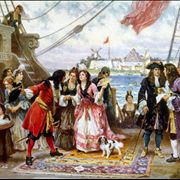 Picture Of Charlotte De Berry Women On Pirate Ship