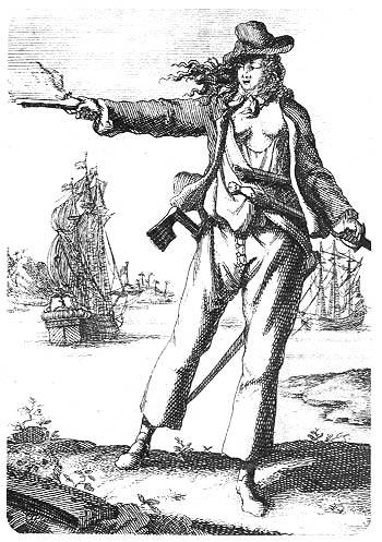 Picture Of Famous Female Pirate Anne Bonny