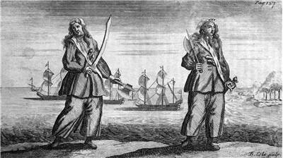 Picture Of Famous Female Pirates Anne And Mary