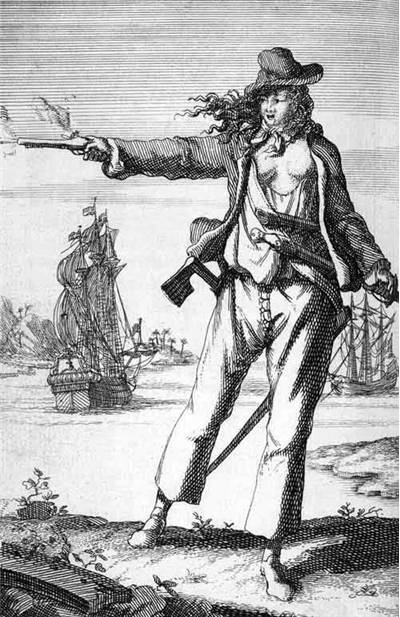Picture Of Female Pirate Anne Bonny