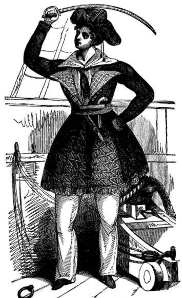 Picture Of Female Pirate Awilda