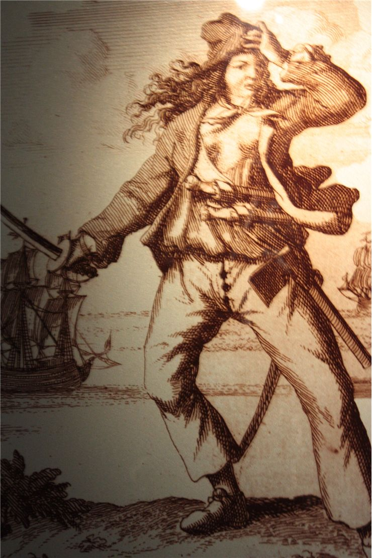 Picture Of Female Pirate Mary Read